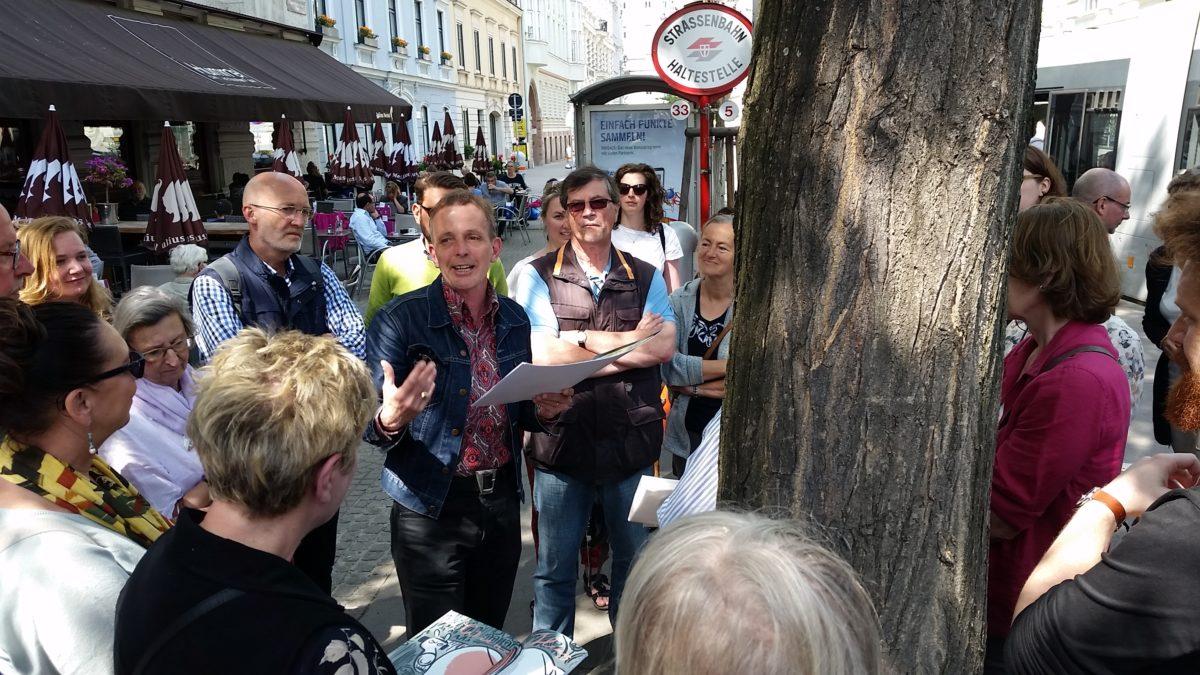 Auf Wiens goldenen Spuren mit Jane's Walk Vienna